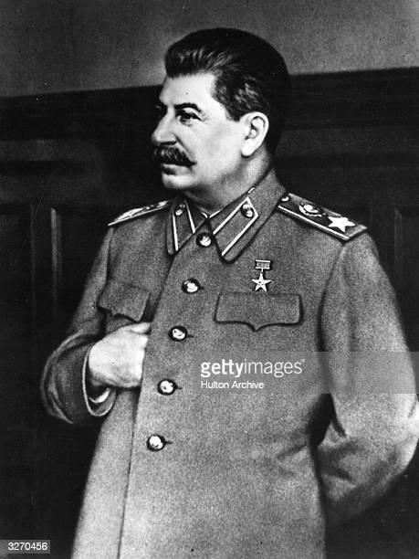 Soviet statesman and Premier Joseph Stalin
