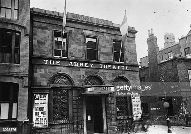 The Abbey Theatre in Dublin it was founded by by William Butler Yeats and Lady Gregory to further the cause of the Irish cultural revival in which...