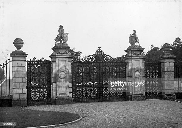 The Golden Gates at Ascot.