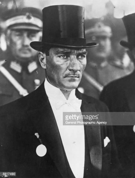 Turkish general and statesman Mustafa Kemal Ataturk