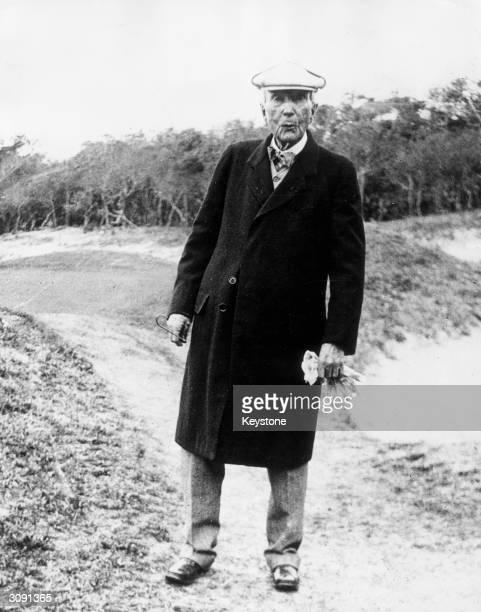 US oil magnate and philanthropist John Davison Rockefeller