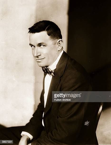 Will Rogers American film actor humoristphilosopher and broadcaster