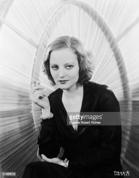 American actress Tallulah Bankhead who starred in several silent films and Alfred Hitchcock's 'Lifeboat'