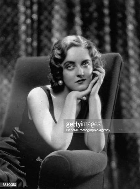 Bette Davis American stage and screen dramatic actress and box office star