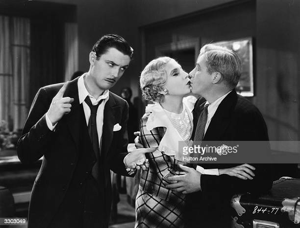 Lilyan Tashman and Skeets Gallagher in the film 'Up Pops The Devil' directed by A Edward Sutherland for Paramount