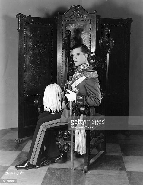 Mexican actor Ramon Novarro formerly Ramon Samaniegos playing Prince Karl Heinrich in 'The Student Prince in Old Heidelberg' directed by Ernst...