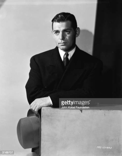 American actor Clark Gable the 'King of Hollywood'