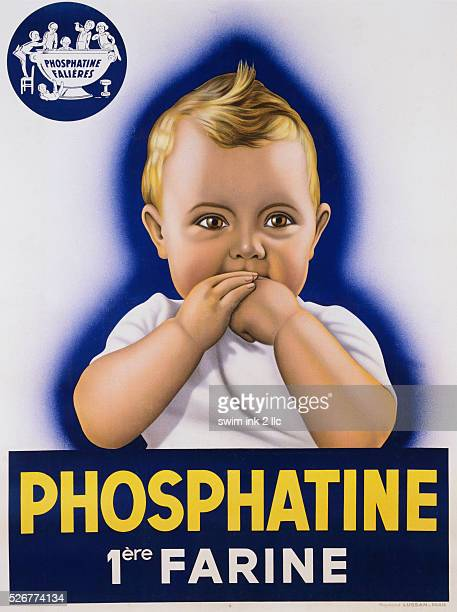 Circa 1932 French Poster for Phosphatine
