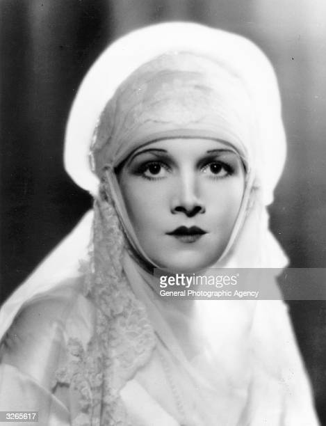 Hollywood film actress Ann Harding a former star of the stage on Broadway
