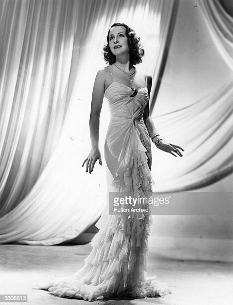 Norma Shearer the Canadian born actress who starred in silent films and then talkies such as 'Private Lives' 1931 'Romeo and Juliet' 1936 'Marie...