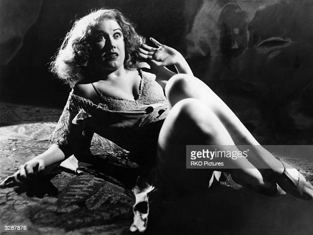 Actress Fay Wray in RKO's film production of 'King Kong' directed by Merian C Cooper and Ernest Schoedsack