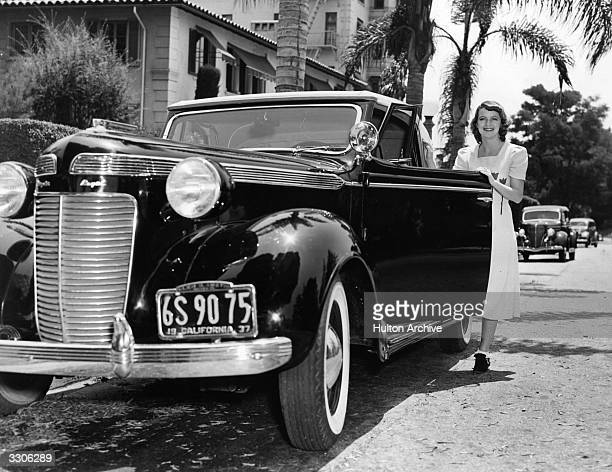 Betty Furness, the Hollywood film star and actress, signed by MGM, seen here on holiday at Santa Barbara.