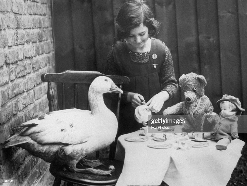 Lucky Goose : News Photo