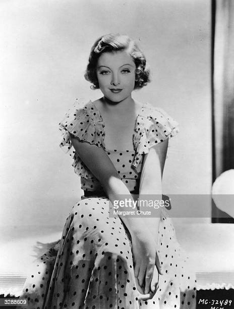 Myrna Loy the Hollywood film star and actress