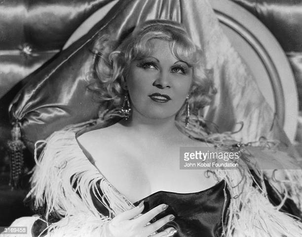 The original Hollywood sex symbol, Mae West .