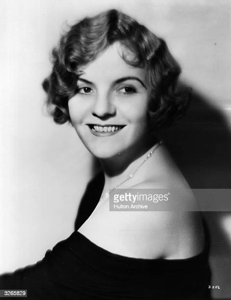 Winnie Lightner the stage name of Winifred Hanson the American vaudeville comedienne who appeared in a few early talkies