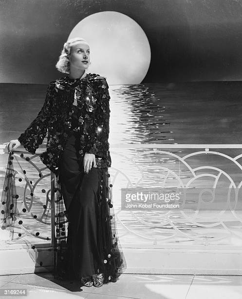 American film actress Carole Lombard in the film 'Rumba' Known as 'The Profane Angel' she became noted for her coarse language practical jokes and...