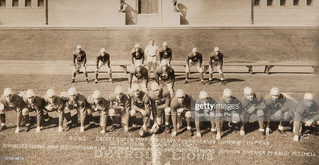 Detroit Lions Football Team : News Photo