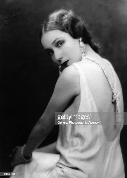 Dolores Del Rio Hollywood film star and wife of MGM's Art Director Cedric Gibbons