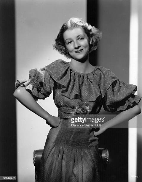 Film actress Betty Furness , formerly Elizabeth Mary Furness, who appeared in the MGM film 'The Band Plays On'.