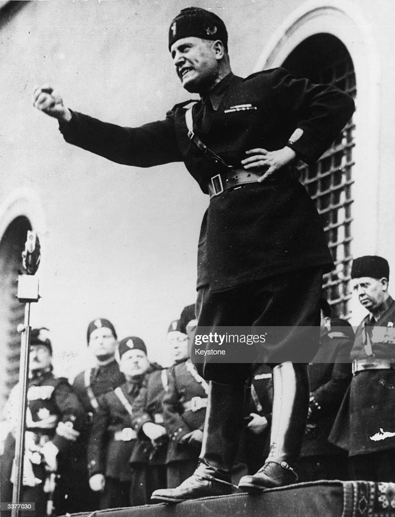 Benito Mussolini : Fotografía de noticias