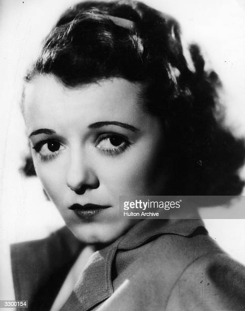 Janet Gaynor the Hollywood film star and actress who starred with Lew Ayres and Walter Connolly in 'Servant's Entrance'