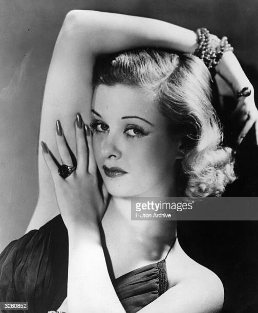 Joan Bennett the American leading lady of the 30's and 40's who was at one time married to Walter Wanger