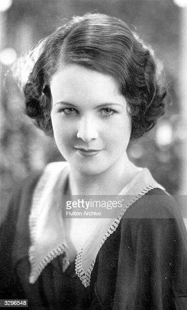 Wendy Barrie the English film actress discovered by Alexander Korda signed up by Paramount in Hollywood