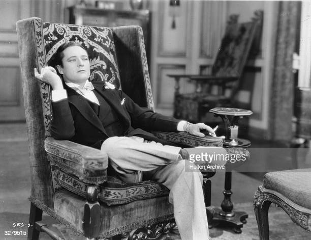 Actor Edmund Lowe in a scene from the film 'Soul Mates'