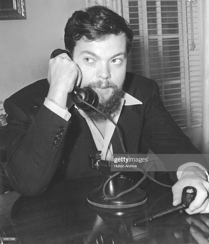 Orson Welles : News Photo
