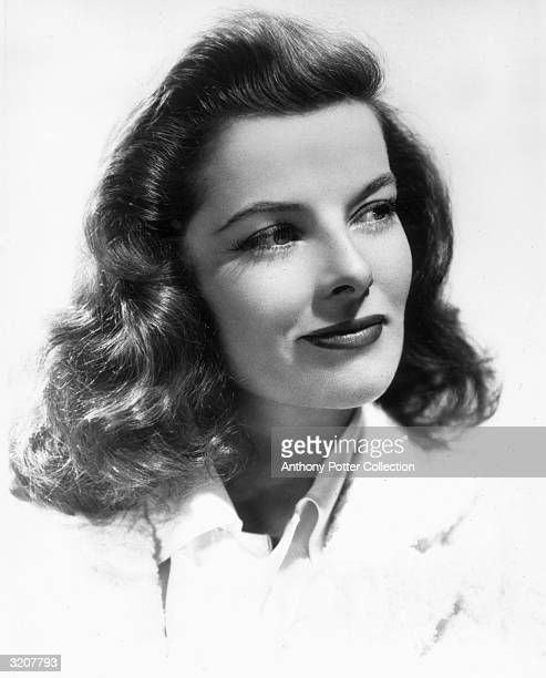 American actress Katharine Hepburn