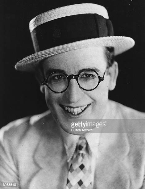 American comic actor Harold Lloyd
