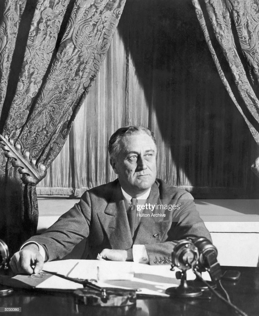 Franklin D Roosevelt : News Photo