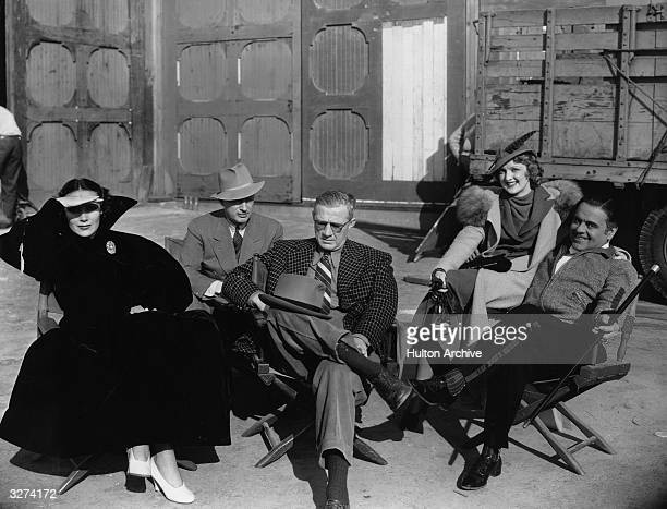 Barry Seymour, Lloyd Bacon , the American director, Dorothy Dare, Leo Carrillo , the Spanish-Californian actor and Dolores Del-Rio , the screen name...