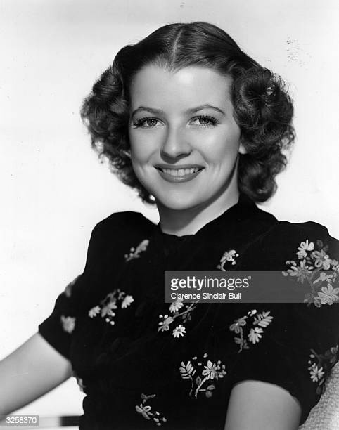 Betty Furness , the Hollywood actress, signed by MGM. She appeared in the film 'Mama Steps Out' directed by George Seitz.