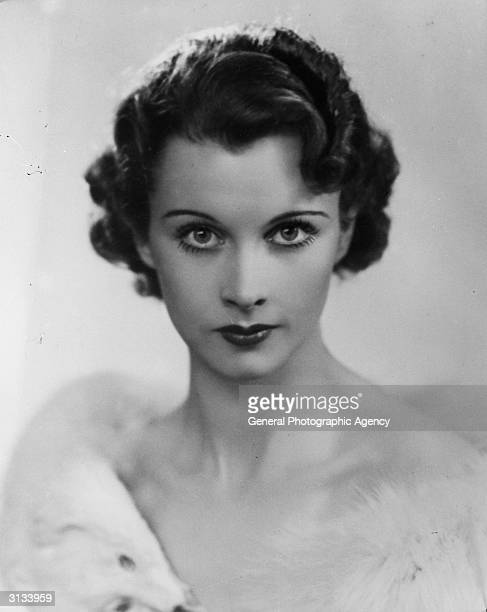 British stage and screen actress Vivien Leigh best known for her role as Scarlett O'Hara in 'Gone with the Wind'