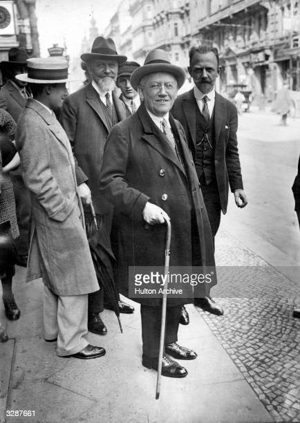 Carl Laemmle , German-American film pioneer who started work in the film industry in 1906 and founded the Universal Studios in 1912, with his...