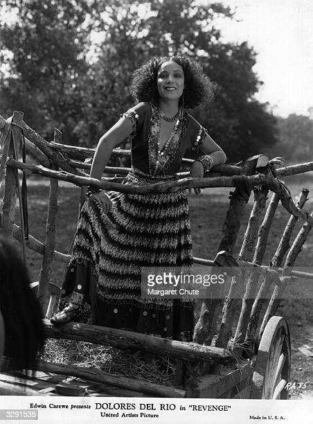 Dolores Del Rio formerly Dolores Asunsolo the Mexican leading lady as she appears in 'Revenge' Title Revenge Studio United Artists