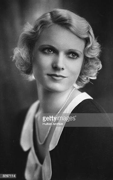 English actress Dame Anna Neagle formerly Marjorie Robertson