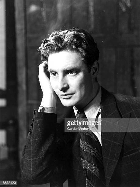 Film and stage actor Robert Donat who won an Academy Award for his role in 'Goodbye Mr Chips'