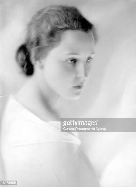 German film actress Brigitte Helm star of Fritz Lang's 'Metropolis'