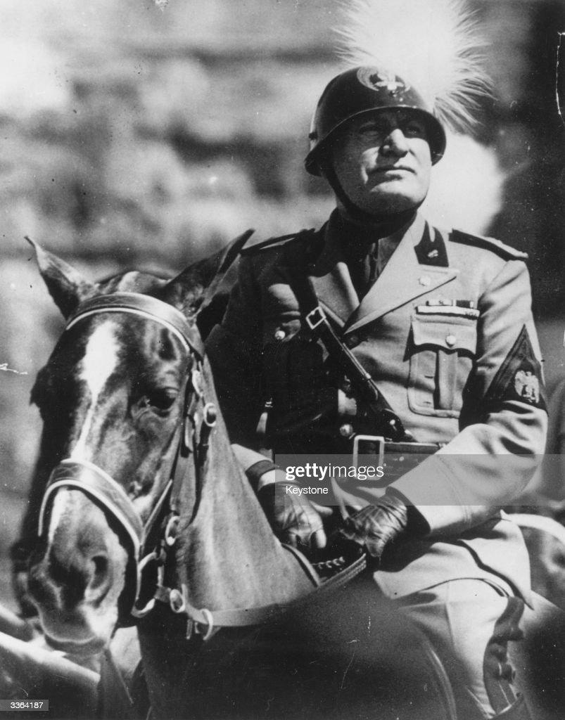Italien Diktator