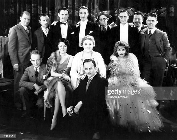 Lila Lee the stage name of Augusta Apple is looking very happy and relaxed in the company of Sophie Tucker Lloyd Bacon Darryl Zanuck the director...