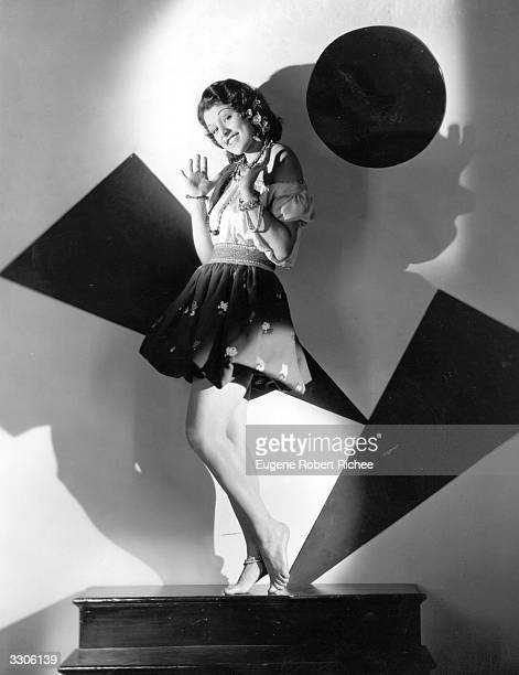 Lillian Roth the Hollywood film star actress dancer and singer who appeared in 'The Vagabond King a Paramount picture