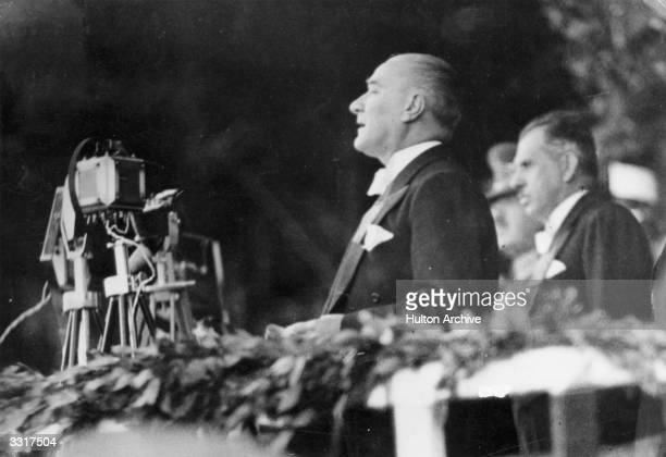 President of the Turkish Republic Mustafa Kemal Ataturk