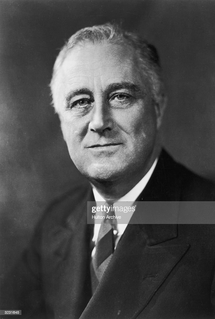 Franklin D Roosevelt : News Photo