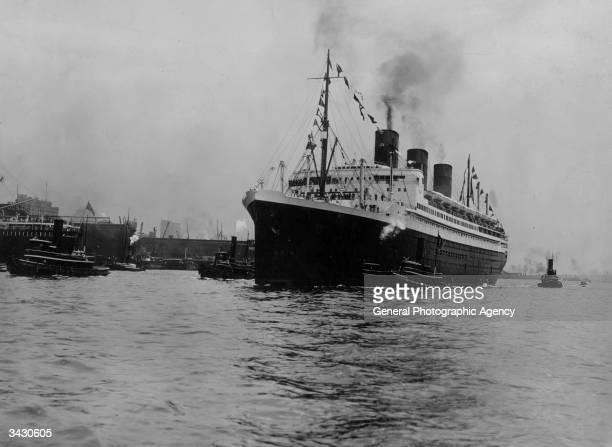 The merchant ship the SS Ile De France