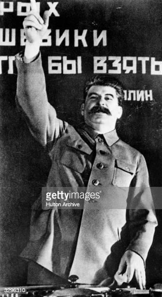 The Soviet leader Joseph Stalin,