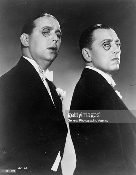 The Western Brothers George and Kenneth stars of the 1934 musical 'Mister Cinders'