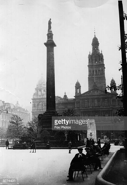 George Square in Glasgow The building on the right of the picture is Glasgow's City Chambers built in Italian Renaissance style and opened by Queen...